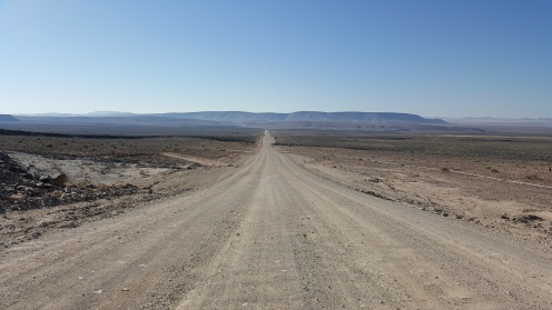 Wavy dirt roads