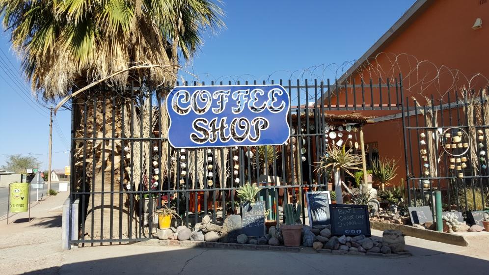 Coffee shop in Bethanie